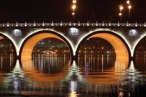 pont à Xi'an, Chine photo
