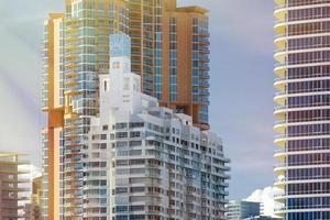 architecture de la plage sud de miami
