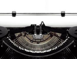machine à écrire antique photo