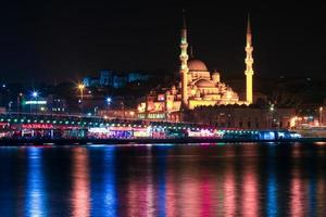 Istanbul la nuit photo
