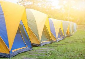 tente touristique photo