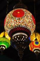 décor de lanterne vintage photo