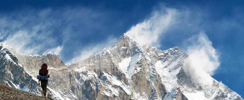 haut de lhotse et nuptse photo