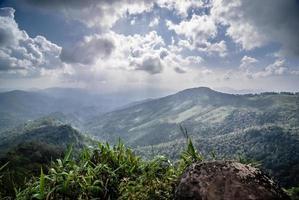 point de vue de la montagne photo