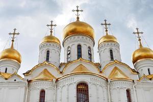 cathédrale de l'annonciation à kremlin de moscou photo