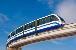 monorail à moscou photo