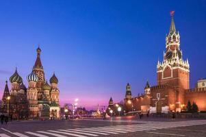 Moscou, carré rouge photo