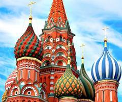 dômes de la célèbre tête st. la cathédrale de basilic photo