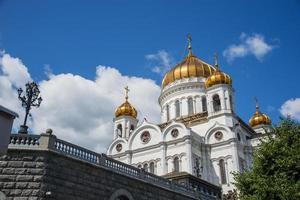 cathédrale du christ sauveur, moscou, russie photo