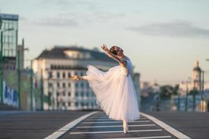 ballerine au centre de moscou
