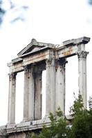 Arc d'Hadrien à la porte olympique de Zeus, Athènes photo