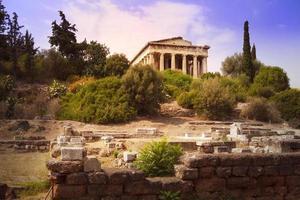 temple d'Héphaïstos à Athènes photo