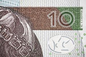 dix zloty polonais photo