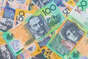 billets de banque australiens photo