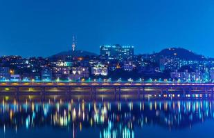 Séoul de nuit photo
