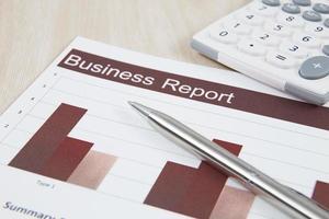 montrant le rapport d'activités et financier photo