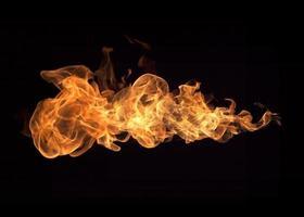 flammes de feu photo