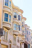 maisons victoriennes de san francisco californie photo