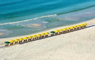 parasols de plage photo