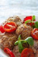 boulettes de viande bouchent