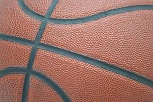 gros plan de basket-ball photo