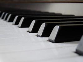 gros plan de piano photo