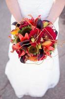 bouquet de la mariée photo