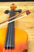 gros plan du violon photo