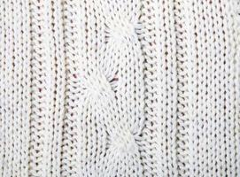 gros plan de texture tricotée photo