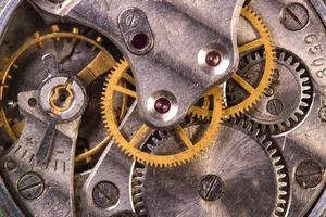 vieille horloge bouchent photo