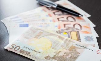 bouchent les billets en euros