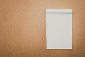 papier blanc maquette photo