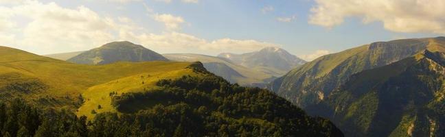 montagnes. photo
