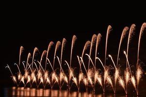 festival des feux d'artifice - malte