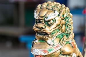 statue de lion photo