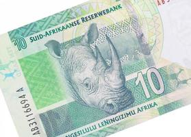 dix rands sud-africains photo