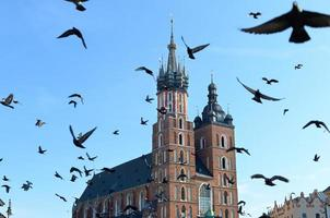 st. Basilique de Marie, Cracovie