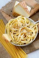 fromage bucatini pecorino photo