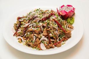 salade de canard épicée