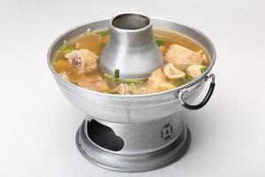 soupe de canard épicée photo