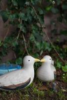 deux modèles de canard colvert