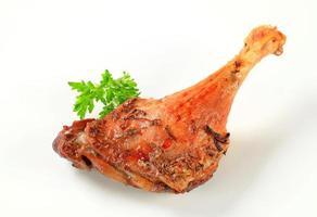 cuisse de canard rôti photo