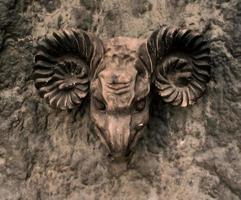 gargouille de pierre photo