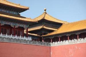 la ville interdite à beijing, chine photo