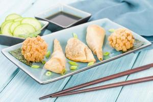 collations asiatiques frites