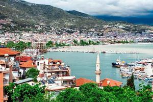 port d'Alanya. dinde photo