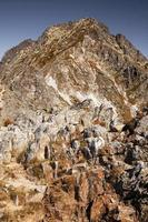 pic dans les hautes tatras, slovaquie photo