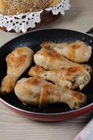 pilons de poulet frit
