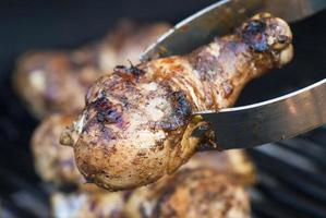 poulet jerk grillé photo