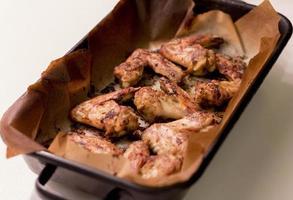 ailes de poulet.
